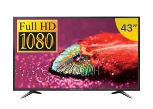 تلفزيون 43 بوصة فائق الدقة Full HD 1080 من جنرال سوبريم GS 43TN12