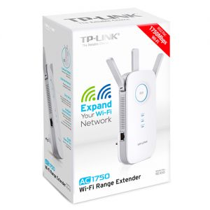 مقوي شبكة access point wifi range extender AC1750 من tplink
