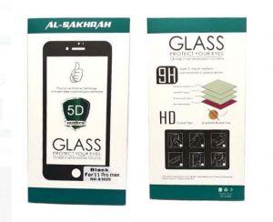 ستيكر حماية زجاجي 5D لهواتف الايفون 11  برو ماكس