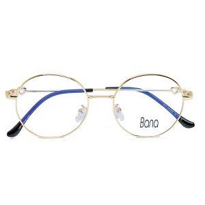 اطار نظارة طبية H577 من Bana ذهبي-بالدرزن