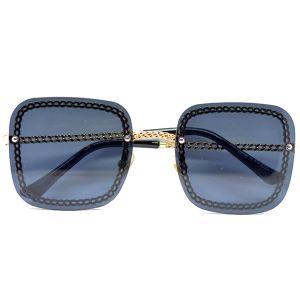 نظارة شمسية  مربع نسائيR525 من Bana -اسود-بالدرزن