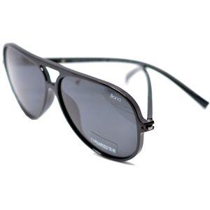 نظارة شمسية دائرية رجاليR512 من Bana -اسود -بالدرزن