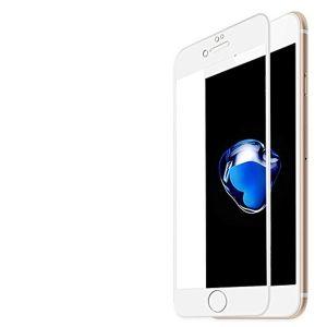 حامي شاشة 3 دي متوافق مع اجهزة ايفون 7 - 8 بلس-ابيض