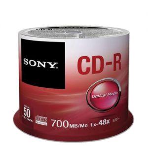 اسطوانات CD Sonyفارغة سعة 700 ميغابايت
