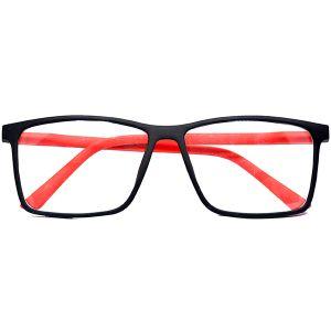 اطار نظارة طبية H523 من Bana احمر-بالدرزن