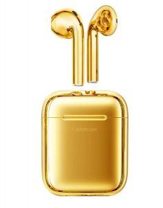 سماعات ايربود لاسلكية جويروم joyroom Gold ,الذهبي,