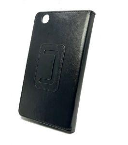محفظة جلدية لجهاز سامسونج تاب  3,تاب 7-أسود