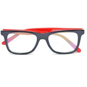 اطار نظارة طبية H563 من Bana احمر -بالدرزن