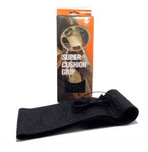 تلبيسة دركسون super cushion grip أسود