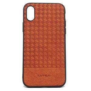 كفرات خلفية جلدية لهواتف الايفون-برتقالي