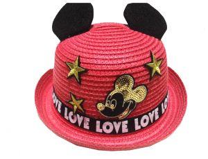 قبعة بناتي منوع PINK درزن (12 قطعة)