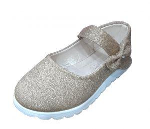 حذاء بناتي اطفال-ذهبي