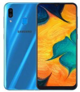 هاتف جالاكسي A30 بشريحتين سعة 64 غيغابت بتقنية 4G LTE-ازرق