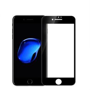 حماية شاشة نانو 5 دي 2 في 1 متوافق مع اجهزة ايفون-اسود