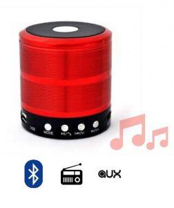 سماعات بلوتوث سبيكر صغيره الحجم WS 887-Red