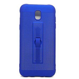 كفر خلفي  بلاستيك لهاتف سامسونج جالكسي j530 -ازرق