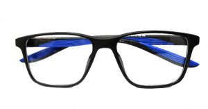 فريم نظارة طبية دائرية بلاستيك  من بانا - ازرق بالدرزن
