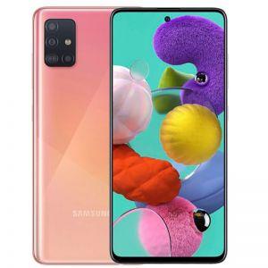 هاتف سامسونج جالكسي اي 51 Galaxy A51 , 128 قيقا شريحتي إتصال 4G وردي