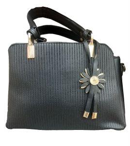 حقيبة يد نسائية تصميم كلاسيكي لون أسود