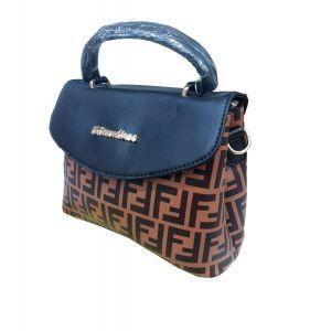 حقيبة يد نسائية بتصميم عصري لون بني