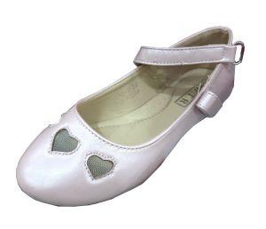 حذاء بناتي اطفال سادة-وردي