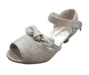 حذاء بناتي كعب-بيج