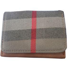 محفظة نسائية صغيرة-رمادي-بيج
