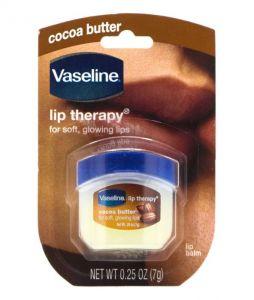 Vaseline Lip Therapy Cocoa Butter مرطب الشفاف بزبدة الكاكاو