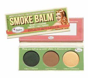 علبة ظلال العيون (زيتي,بني,بيج) smoke balm مستورد