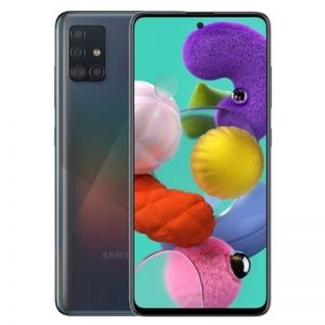 هاتف سامسونج جالكسي اي 51 Galaxy A51 , 128 قيقا شريحتي إتصال 4G أسود
