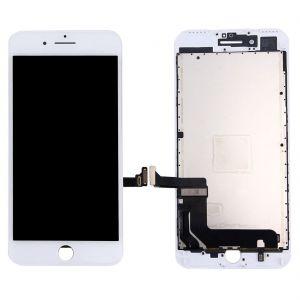 شاشة ايفون  7 بلس ضمان تشغيل ابيض