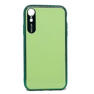 كفرات خلفية لماعة لهواتف الايفون-اخضر