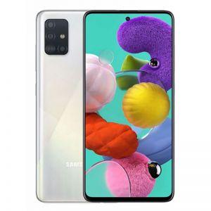 هاتف سامسونج جالكسي اي 51 Galaxy A51 , 128 قيقا شريحتي إتصال 4G أبيض