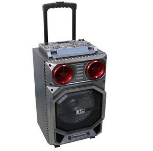 BTC - سماعات سبيكر بلوتوث - منفذ يو اس بي - 40 وات