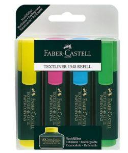 فابيركاستل - مجموعة أقلام تحديد 4 قطع