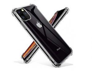 كفر جراب ايفون 11 برو الغوريلا شفاف حماية ضد الصدمات مع استيكر نانو