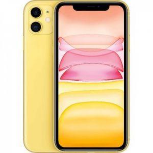 هاتف ابل ايفون 11- ذاكرة 128 جيجا، رام 4 جيجا، 4G- اصفر