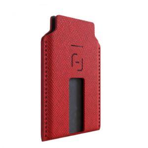 محفظة للهواتف الذكية ماقباك Magbak الاصليه مع MagStache-احمر