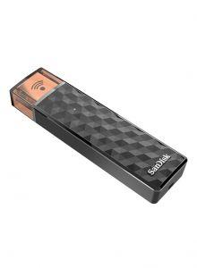محرك فلاش USB باتصال لاسلكي أسود 32غيغابايت