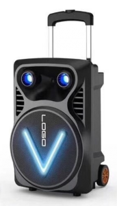 سماعات مكبر صوت قابله للحمل OM V12