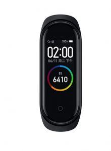 ساعة شاومي Mi Band 4,مي باند 4 لتتبع اللياقة - أسود