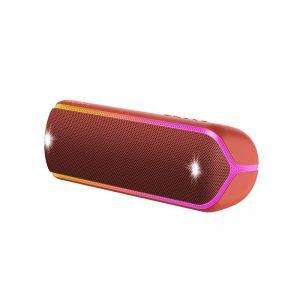 سماعة سبيكرخارجية بلوتوث ضد الماء SRS-XB32R من سوني-أحمر