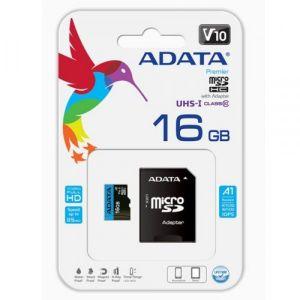 بطاقة ذاكرة مايكرو مع حافظة بحجم 16 قيقا من اي داتا