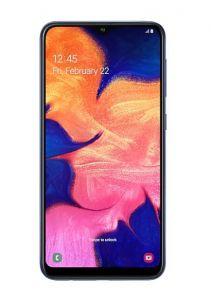 هاتف جالاكسي A10 ضمان الحداد  ثنائي الشريحة لون أزرق وبذاكرة داخلية سعة 32 غيغابايت ويدعم خاصية الجيل الرابع LTE