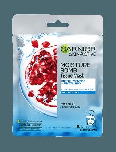 garnier hydra bomb tissue mask قناع غارنية بالرمان