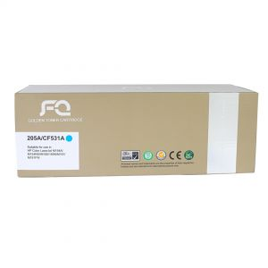 ازرق TONER FQ GOLD CF531A 205A CYAN حبر