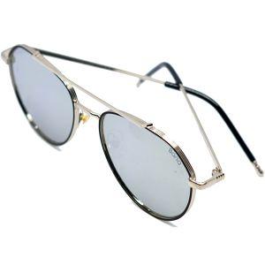 نظارة شمسية دائرية رجاليR512 من Bana -رمادي شفاف -بالدرزن