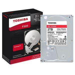 هارديسك نوعHDD بمساحة تخزين 2 تيرا بايت من توشيبا