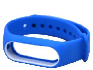 سوار ساعة شاومي بالوان متعددة-ازرق